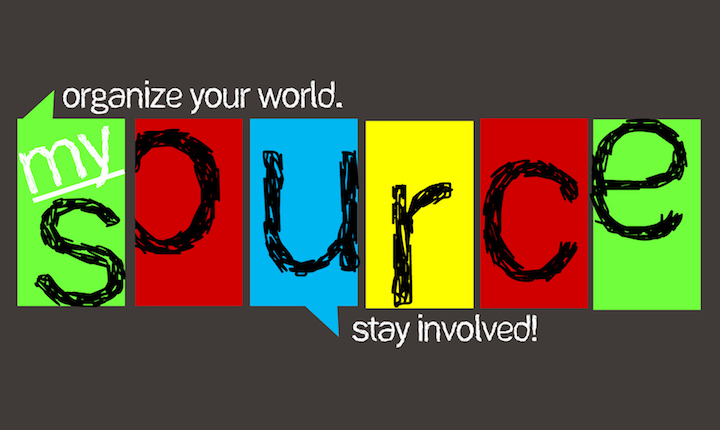 MySource, organize your world, stay involved